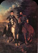 unknow artist The Last Meeting of Lee and Jackson oil painting reproduction